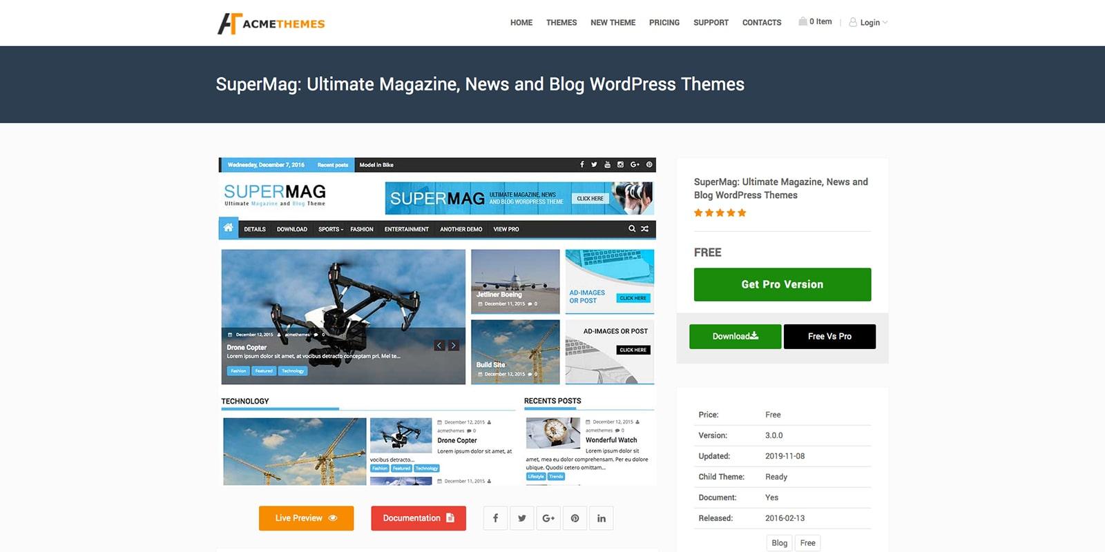 图片[23]-40款 WordPress免费主题推荐-G-Suite