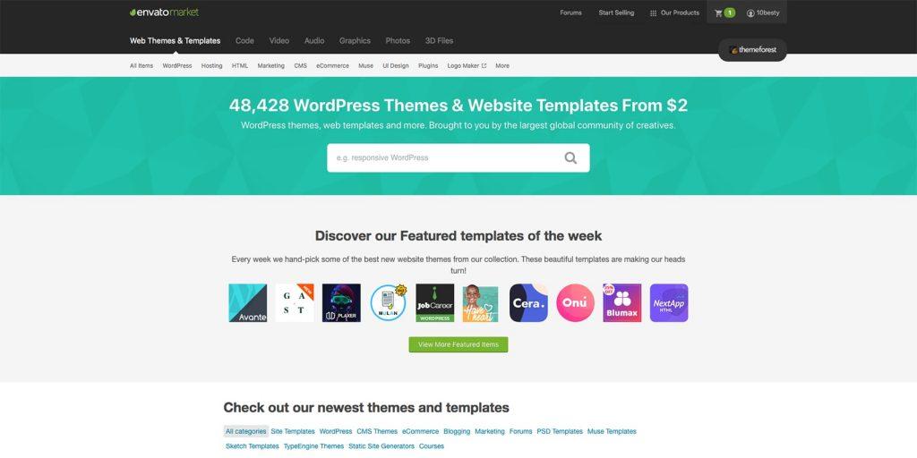 最好的WordPress主题商店推荐-G-Suite