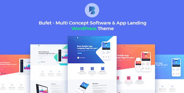 Bufet-多概念软件和应用APP WordPress主题+ RTL官方限时免费主题-G-Suite
