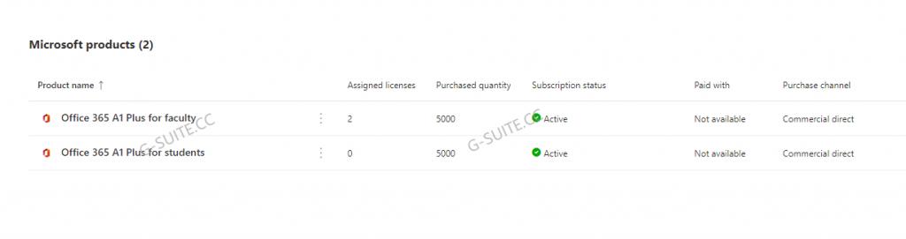 图片[1]-Office 365 (A1 Plus) 教育版全局管理员-G-Suite
