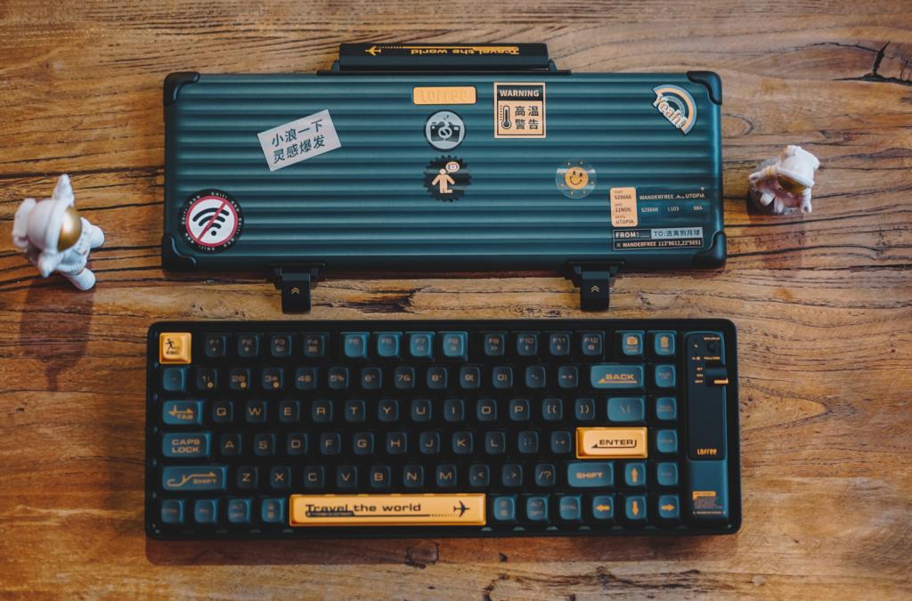 以浪为名,Lofree洛斐小浪蓝牙机械键盘适合外出携带的小机械键盘-G-Suite
