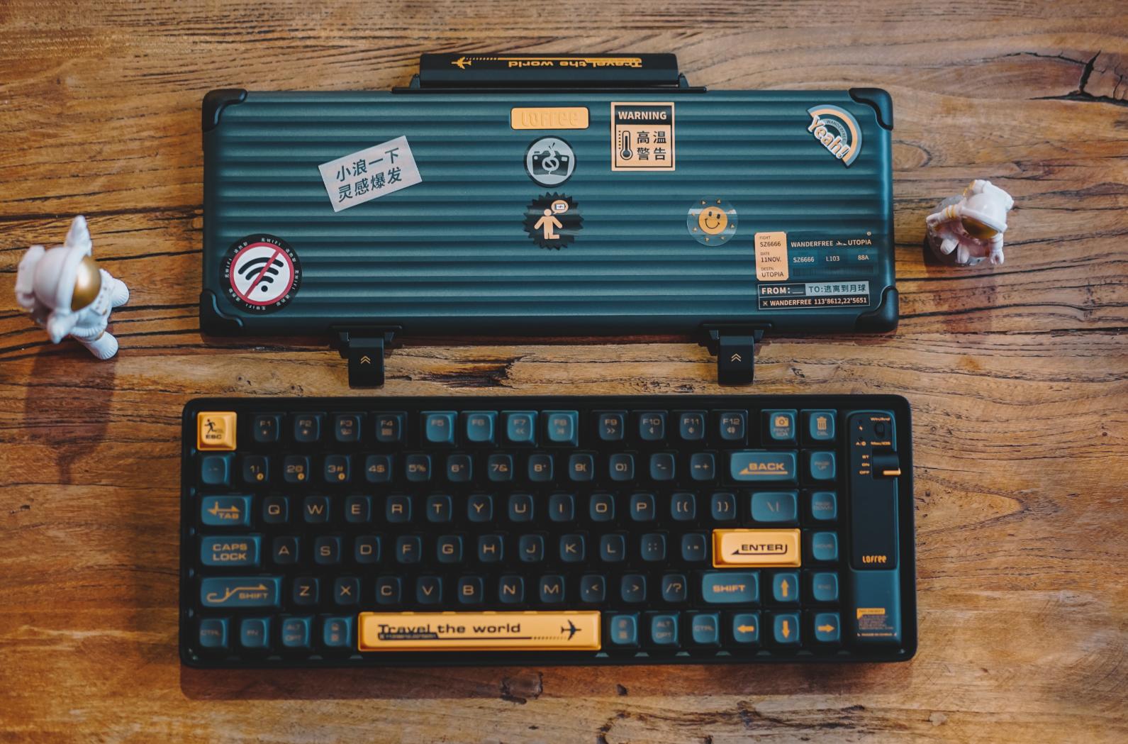 图片[1]-以浪为名,Lofree洛斐小浪蓝牙机械键盘适合外出携带的小机械键盘-G-Suite
