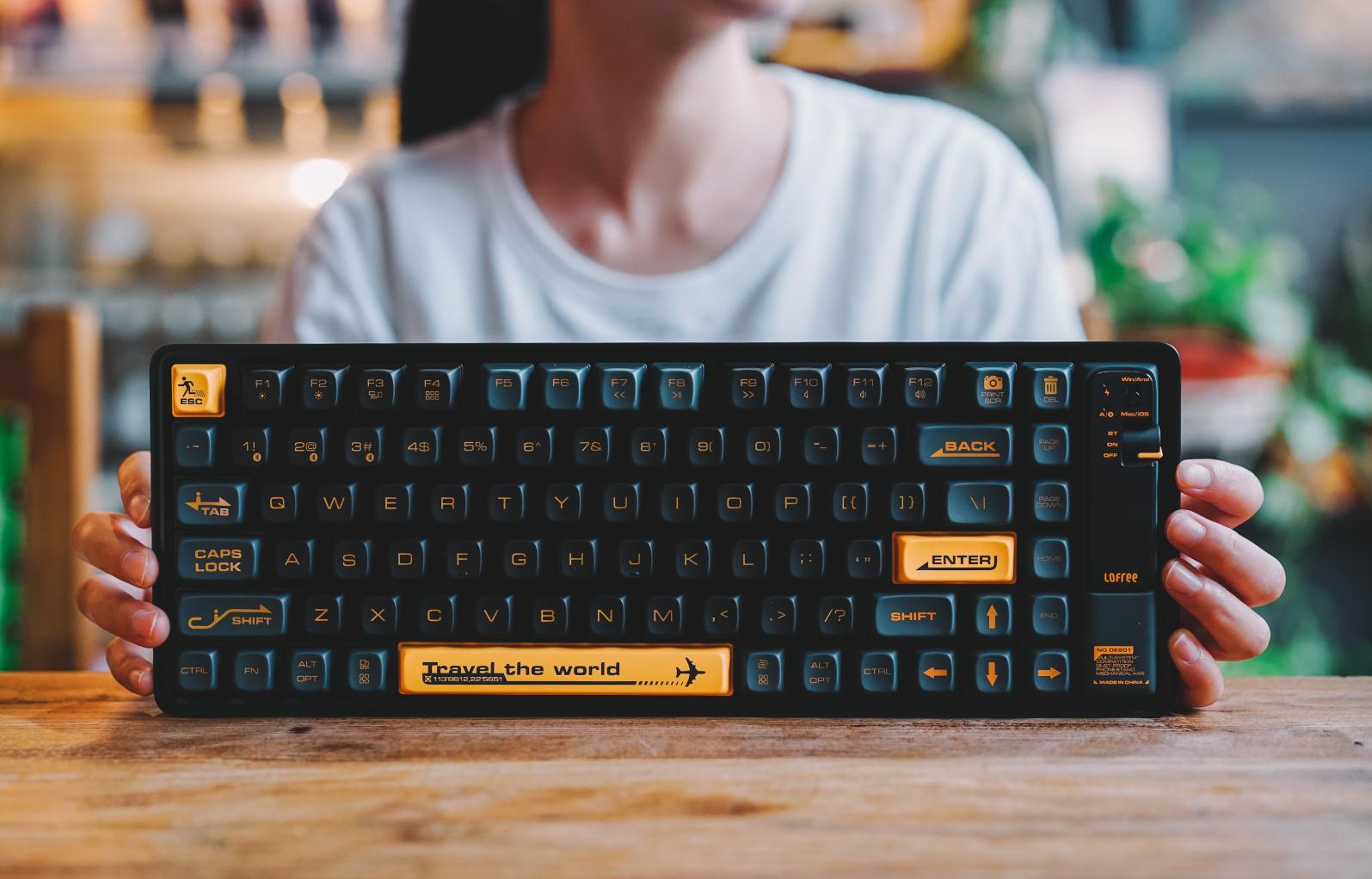 图片[7]-以浪为名,Lofree洛斐小浪蓝牙机械键盘适合外出携带的小机械键盘-G-Suite
